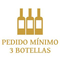 Pedido mínimo 3 botellas, del mismo vino o combinados